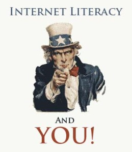 Uncle Sam Wants YOU to be Internet Literate!